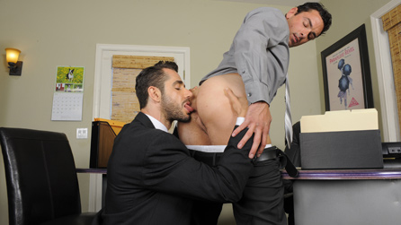 The Gay Office Sex
